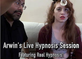 Arwin's Live Hypnosis Session