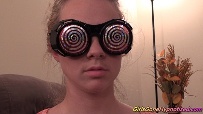 Hypnotized girl
