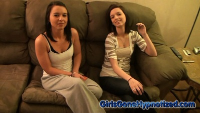 2 girls hypnotized